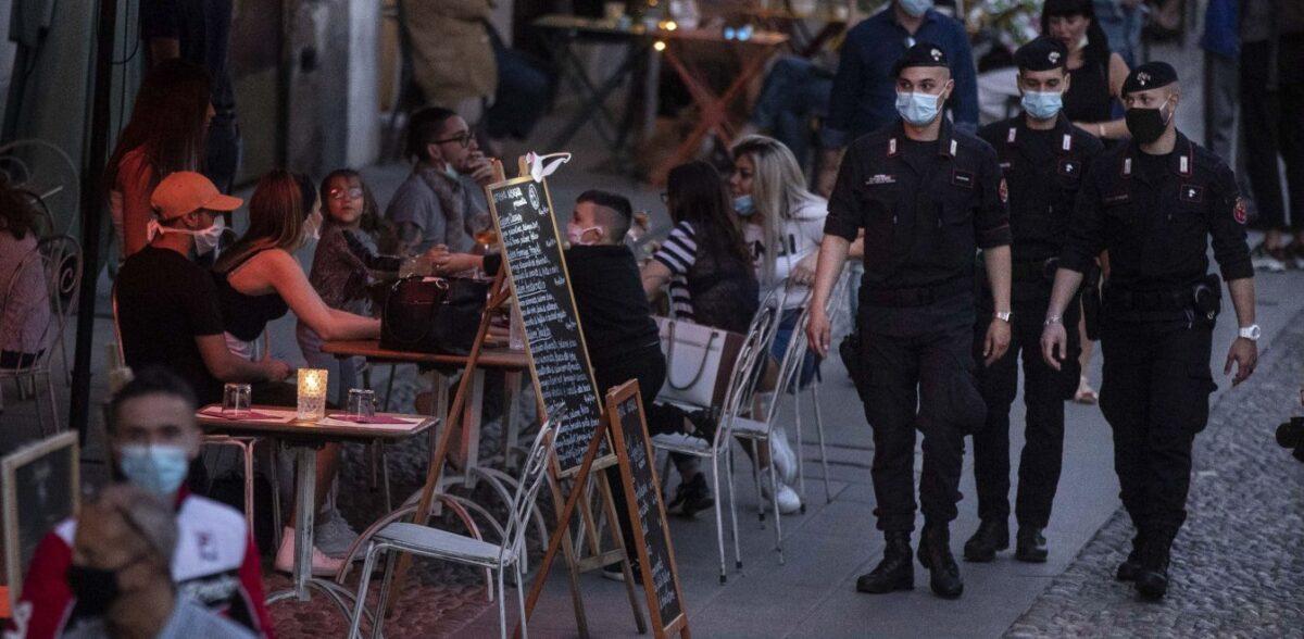 Ιταλία: 2.844 νέα κρούσματα κορονοϊού - 27 νεκροί το τελευταίο 24ωρο