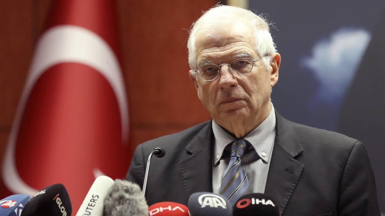 Μπορέλ: Απαράδεκτα τα σχόλια του Ερντογάν για τον Μακρόν