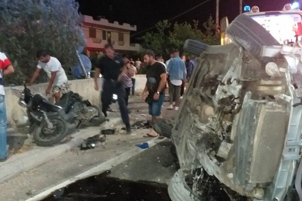 Τραγωδία στη Ρόδο: «Τρελό» Ι.Χ. παρέσυρε πεζούς – Νεκρός ένας 43χρονος που πήγε να βοηθήσει