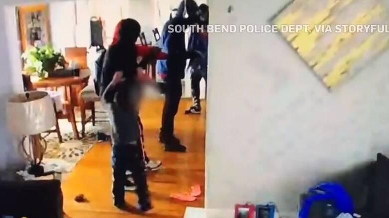 ΗΠΑ – Απίστευτο βίντεο: 5χρονο αγοράκι επιτίθεται σε διαρρήκτες