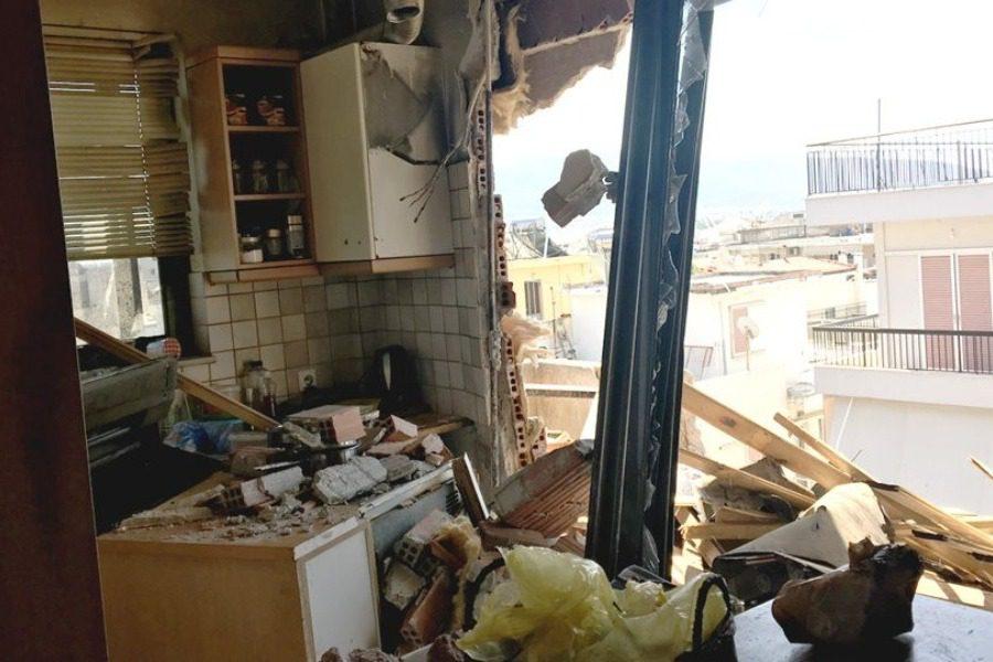 Νέο Ηράκλειο: Την πλάκωσε ο τοίχος της κουζίνας