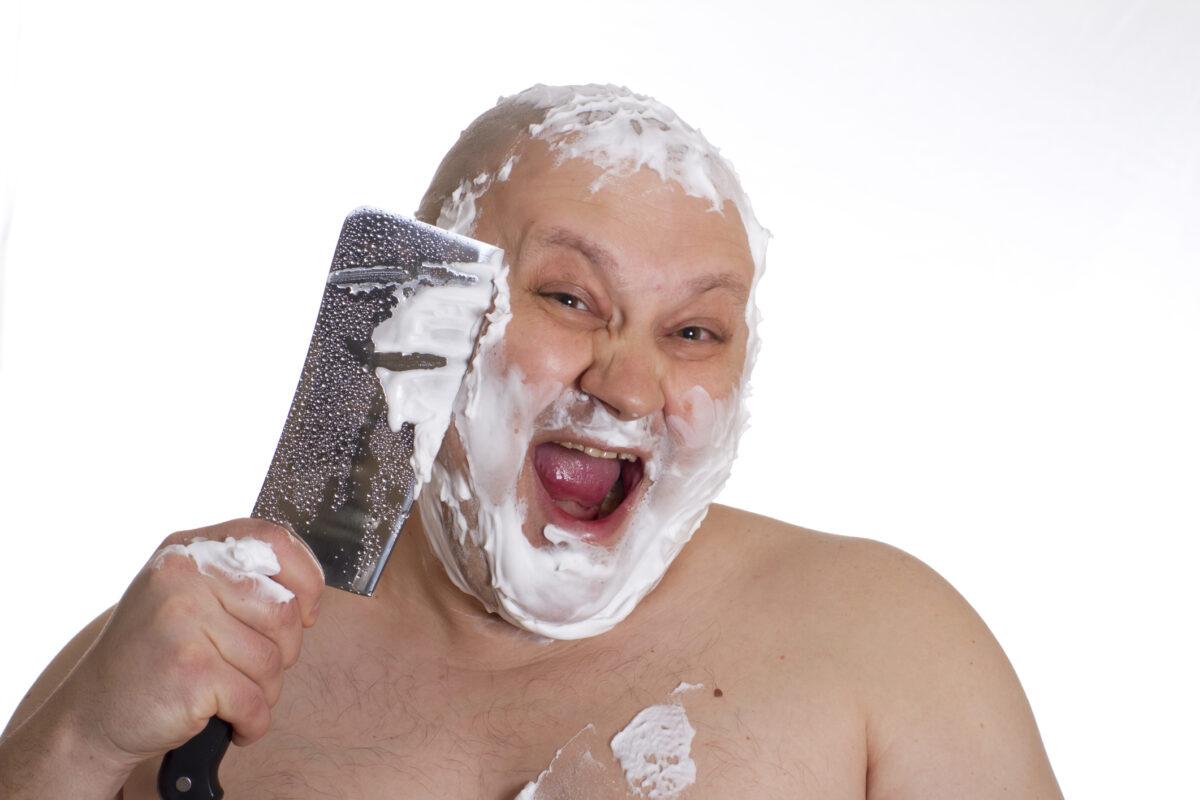 Χρησιμοποιούσε το ίδιο βουρτσάκι για το ξύρισμα εδώ και 30 χρόνια και αυτό ήταν το αποτέλεσμα