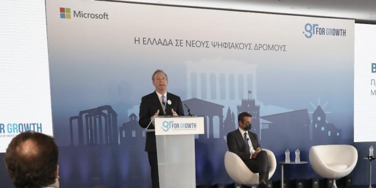 Μητσοτάκης για επένδυση Microsoft: Δεν είναι μόνο ένα τεχνολογικό και οικονομικό άλμα, είναι ένα βήμα εκδημοκρατισμού