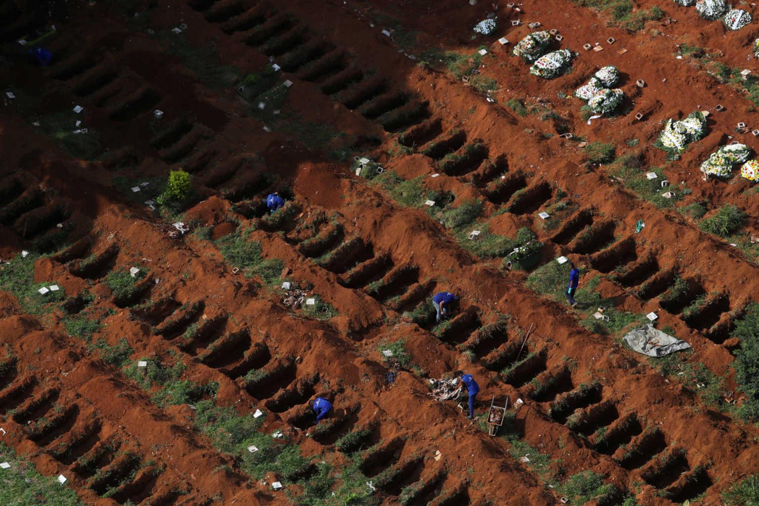 Κορονοϊός: Εκατοντάδες νεκροί και το τελευταίο 24ωρο στην Λατινική Αμερική