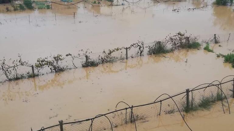 """Η κακοκαιρία """"χτύπησε"""" ξανά περιοχές του Δήμου Μινώα"""