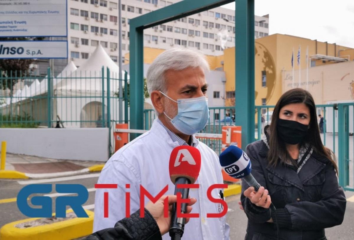 """Πρόεδρος γιατρών ΑΧΕΠΑ: """"Πιάσαμε οροφή στη ΜΕΘ! Μένουν μόνο 4 κρεβάτια! Θα διασωληνώνουμε σε απλούς θαλάμους""""!"""