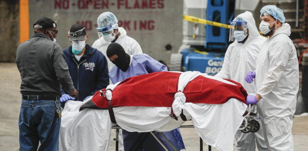 Κορονοϊός: Οι νεκροί στις ΗΠΑ θα ξεπεράσουν αυτούς του Β' Παγκοσμίου Πολέμου