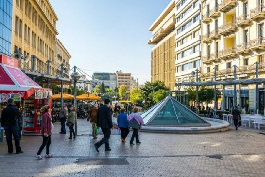 Αυτοκτονία στο κέντρο της Αθήνας