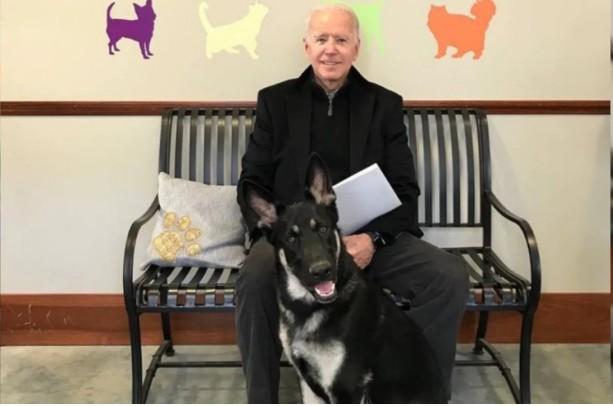 Ο Τζο Μπάιντεν τραυματίστηκε στον αστράγαλο παίζοντας με τον σκύλο του