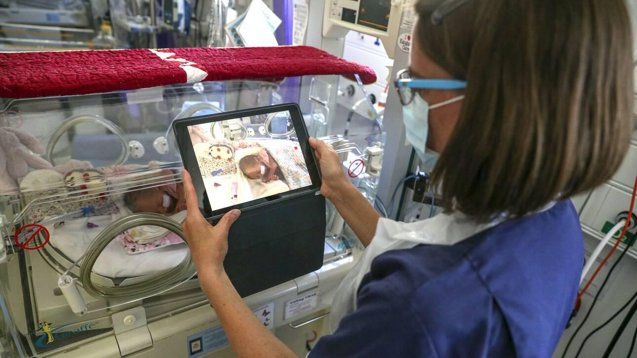 Κορωνοϊός - Έρευνα: Πολύ σπάνια η σοβαρή λοίμωση στα νεογέννητα