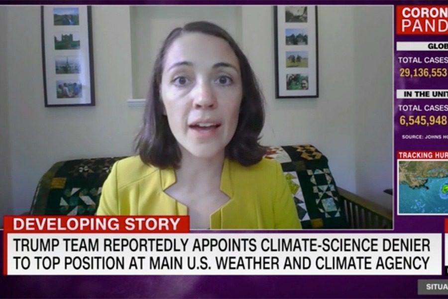 Έδινε συνέντευξη στo CNN, αλλά κανείς δεν ήξερε τι γινόταν μέσα στο σπίτι της