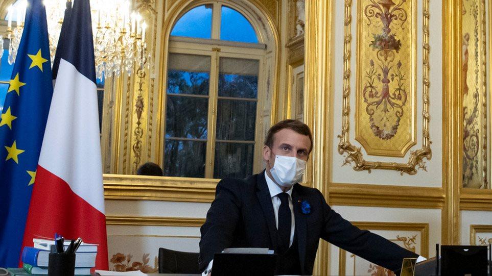 Μακρόν: Ξεκινάμε τη χαλάρωση των περιορισμών στη Γαλλία