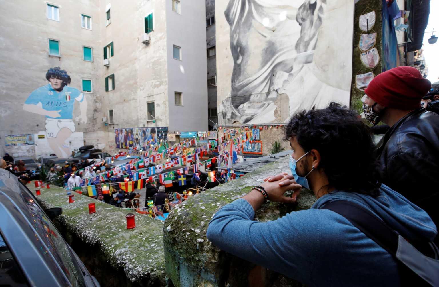 Ντιέγκο Μαραντόνα: Λαϊκό προσκύνημα για τον θεό της μπάλας σε Live Streaming