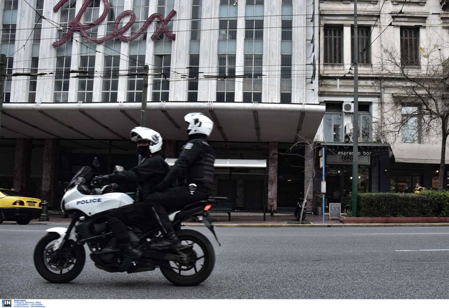 Τροχαίο Ι.Χ. με μηχανή της ΔΙΑΣ – Τραυματίστηκαν δυο αστυνομικοί