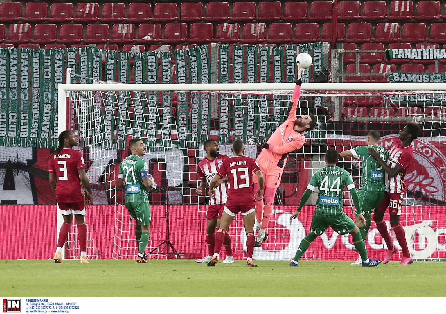 Ολυμπιακός - Παναθηναϊκός: Γκολάρα Φορτούνη με το αριστερό και 1-0!