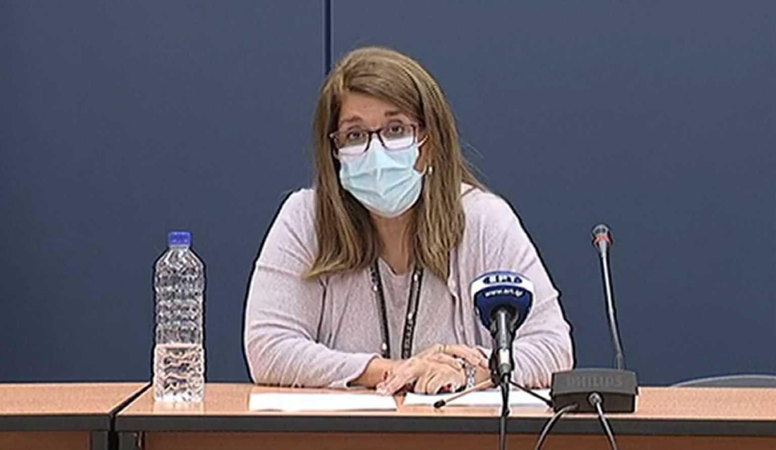 Κορονοϊός: Με… κακά μαντάτα η Παπαευαγγέλου στην πρώτη της ενημέρωση (video)