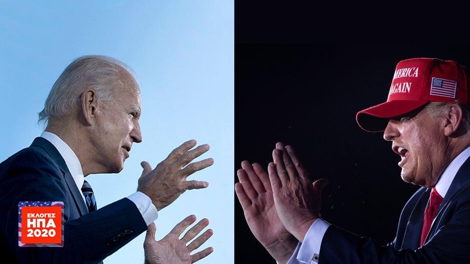 Αμερικανικές εκλογές: Ανατροπή και νίκη για Μπάιντεν στο Ουισκόνσιν