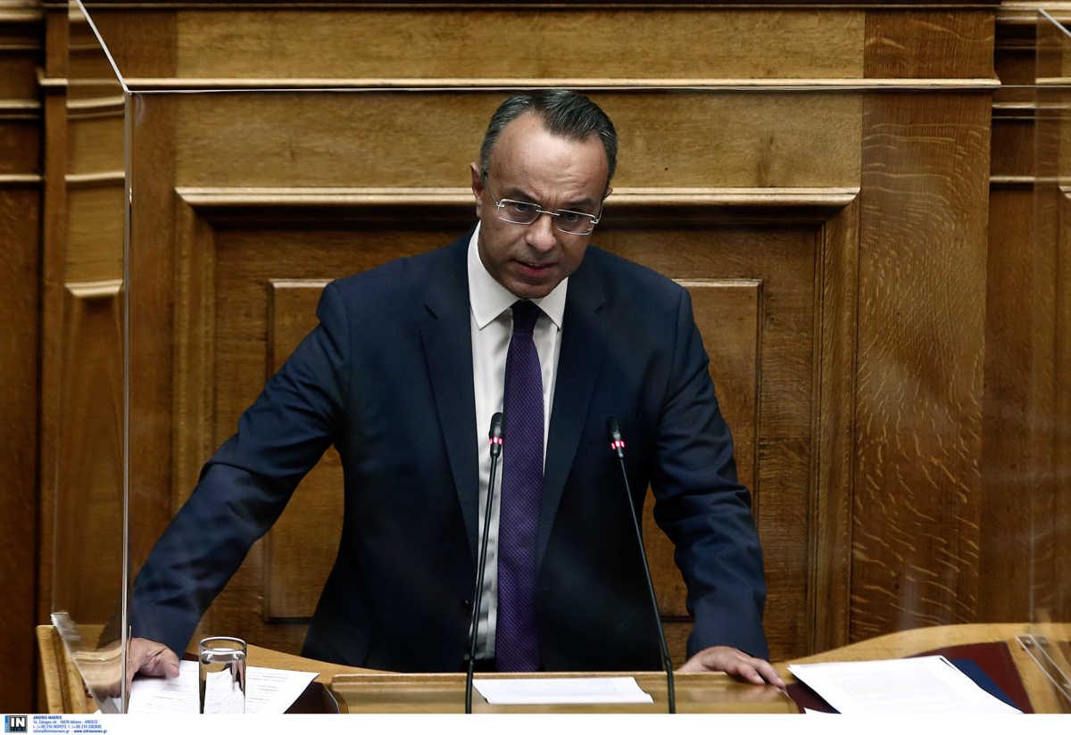 Σταϊκούρας: Η Επιστρεπτέα Προκαταβολή θα συνεχιστεί και το 2021