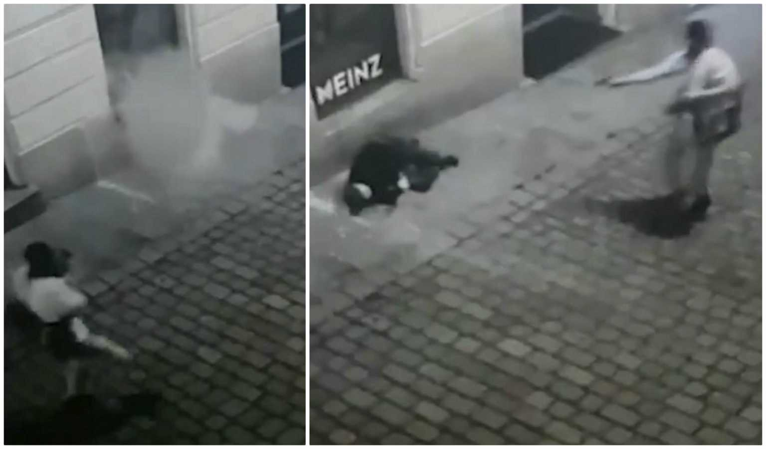 Βιέννη: Βίντεο σοκ – Τον εκτελεί εν ψυχρώ στη μέση του δρόμου