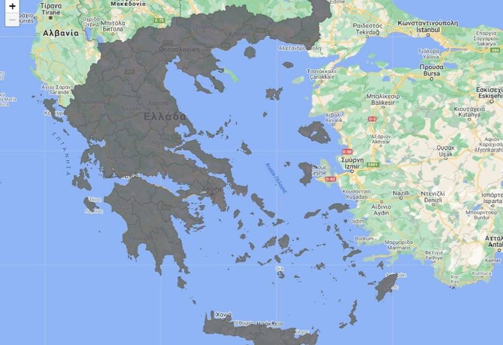 Κορωνοϊός: 300 νέα κρούσματα στη Θεσσαλονίκη και 252 στην Αττική – Αναλυτικά ο επιδημιολογικός χάρτης