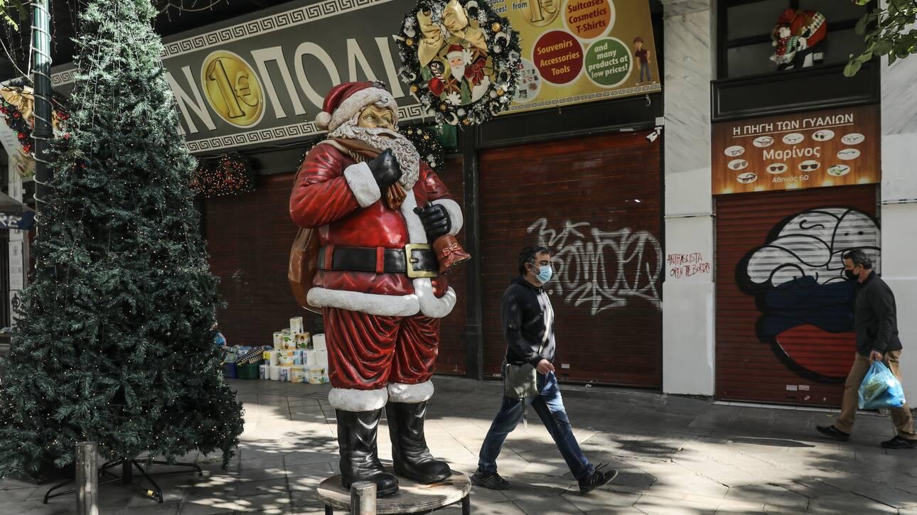 «Κωδικός» Χριστούγεννα: Το άνοιγμα της αγοράς, το «click away» και τα ψώνια με SMS