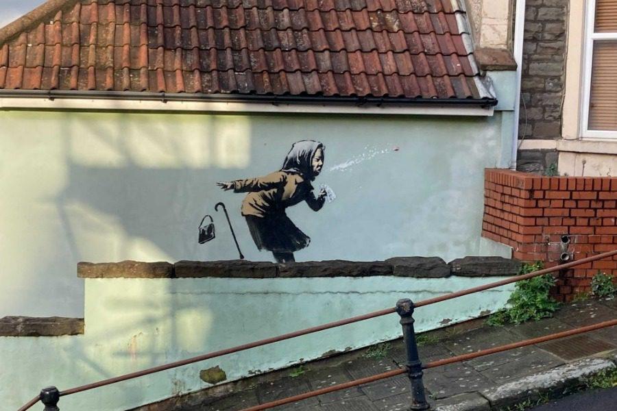Ένα γκράφιτι του Banksy αύξησε την αξία ενός σπιτιού από 300.000 σε 5 εκατ. λίρες