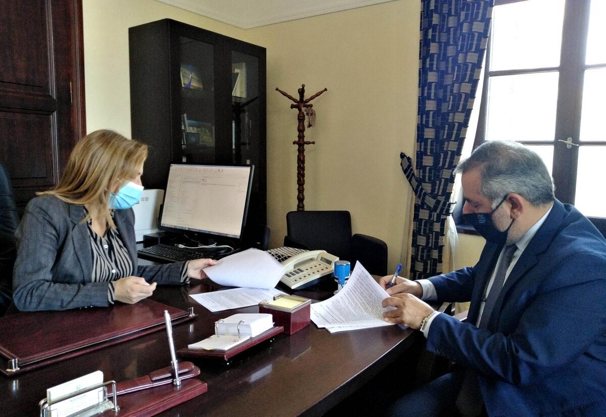 Υπογραφή προγραμματικών συμβάσεων εκτέλεσης έργων πυροπροστασίας και δασικής αναψυχής από την Αποκεντρωμένη Διοίκηση Κρήτης