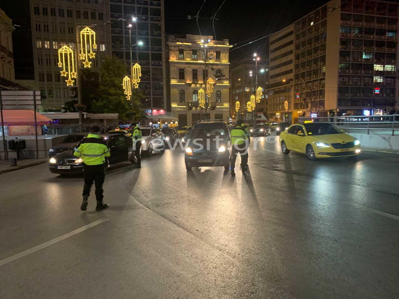 Κορονοϊός: Σαρωτικοί έλεγχοι τώρα στην Ομόνοια! Δείτε LIVE εικόνα