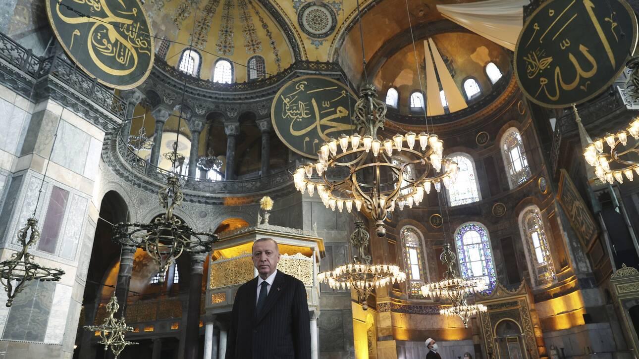 Αγία Σοφία: Το Συμβούλιο της Ευρώπης καταδίκασε τη μετατροπή της σε τζαμί