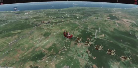 Χριστούγεννα 2020 – Live: Ο Αγιος Βασίλης ξεκίνησε το μεγάλο ταξίδι του