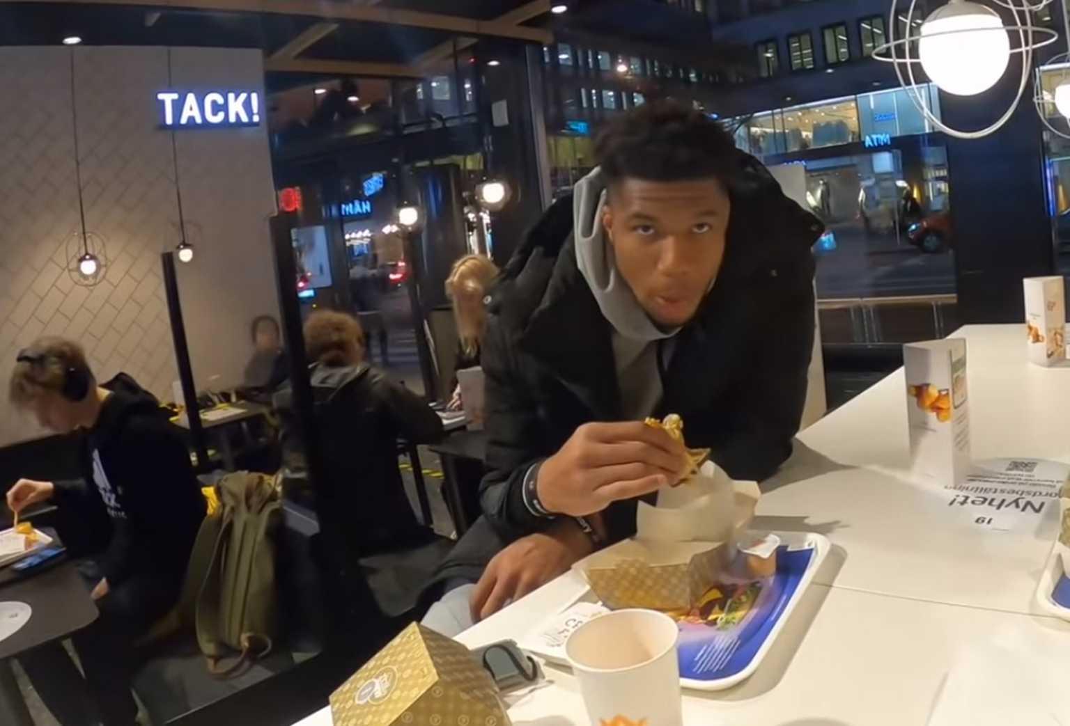 """Επικός Αντετοκούνμπο στη Σουηδία! """"Δεν με ξέρει κανείς εδώ – Ελάτε να κάνουμε μπίζνες"""" (video)"""