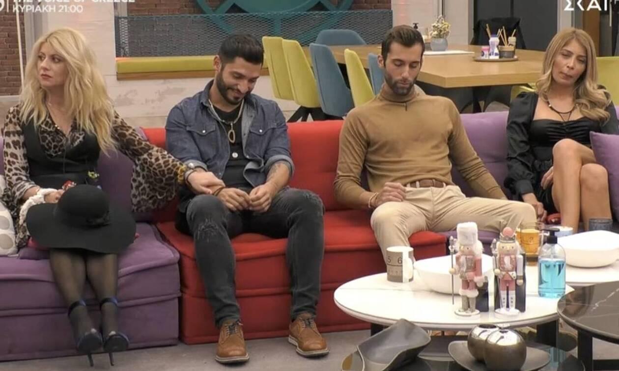 Big Brother αποχώρηση: Η ανατροπή και τα κλάματα