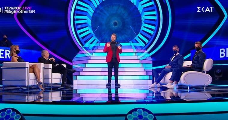 Big Brother τελικός: Αυτός αποχώρησε τρίτος – Αυτοί οι δύο διεκδικούν τις 100.000 ευρώ