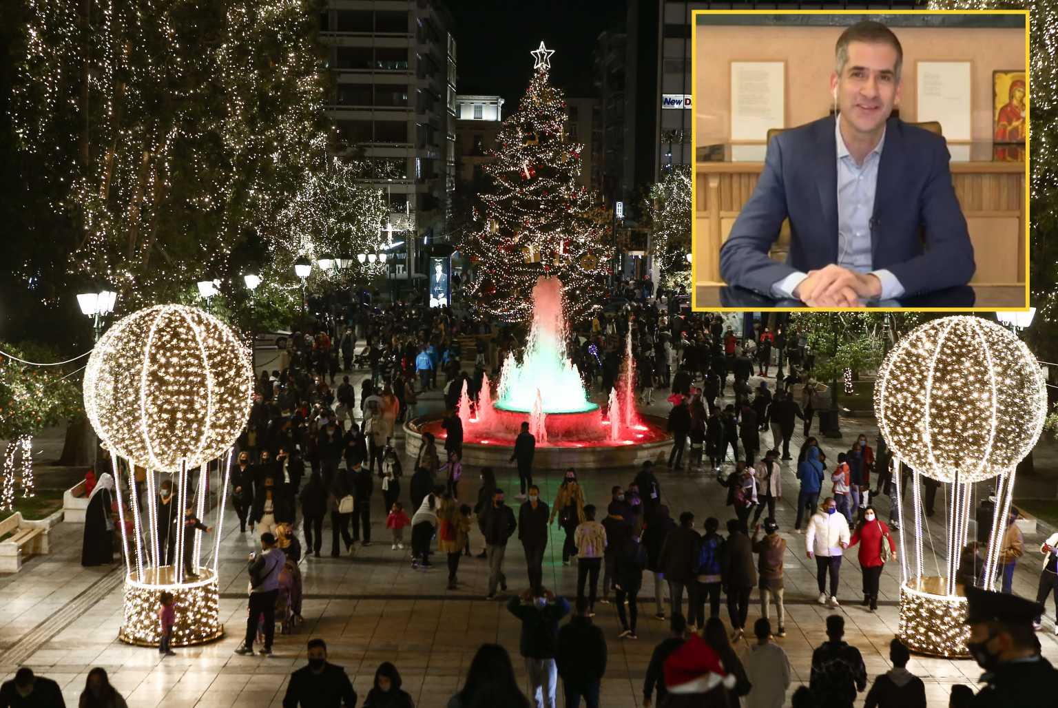 Έτσι θα γίνει η αλλαγή χρόνου στην Αθήνα – Μπακογιάννης: Θα είναι μια έκπληξη που θα θυμόμαστε (video)