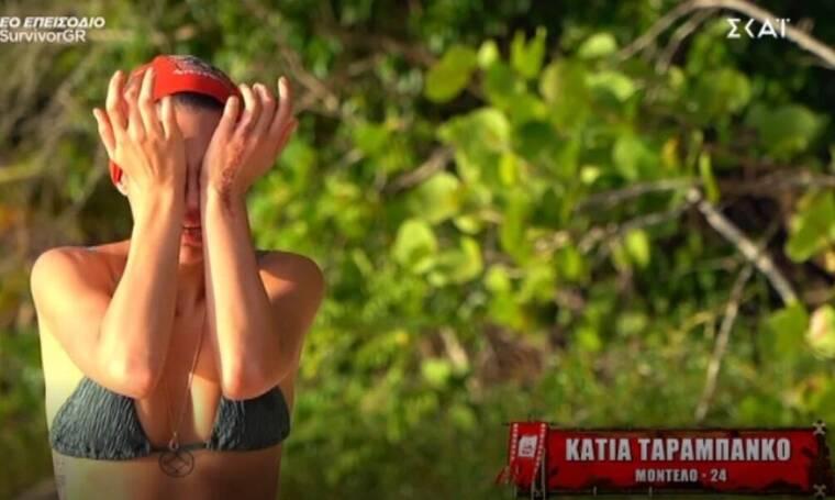 Survivor: Λύγισε η Κάτια Ταραμπάνκο – Τα κλάματα και η επίθεση στους συμπαίκτες της!