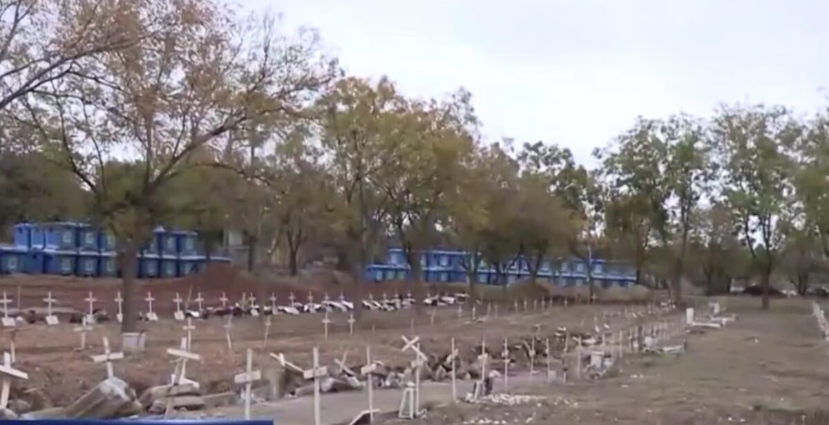 Σκηνές πολέμου στο νεκροταφείο της Θέρμης! Ανοίγουν νέους τάφους για τα θύματα κορονοϊού