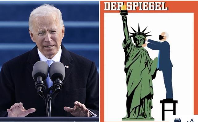 Der Spiegel: Καλωσόρισε τον 46ο πρόεδρο των ΗΠΑ, Τζο Μπάιντεν με ένα πρωτοσέλιδο γεμάτο μηνύματα