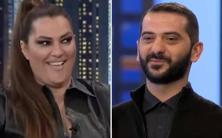 The 2Night Show: Ο Λεωνίδας Κουτσόπουλος «κέρδισε» την καρδιά της Κατερίνας Ζαρίφη