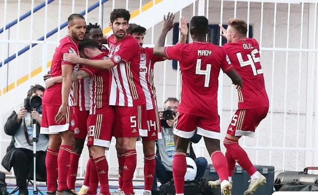 Ασταμάτητος ο Ολυμπιακός, 1-0 και τον Ατρόμητο στο Περιστέρι