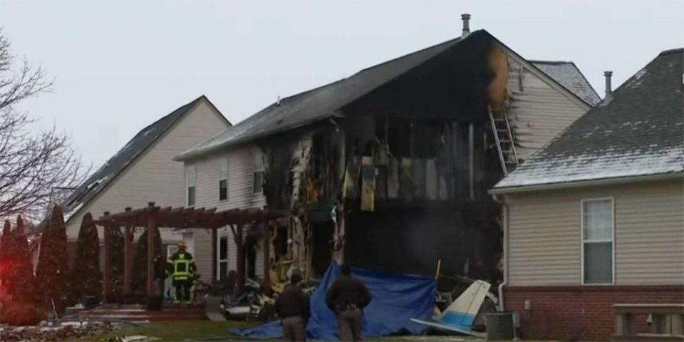 Πτώση αεροπλάνου στο Μίσιγκαν με τρεις νεκρούς – Από θαύμα σώθηκε πενταμελής οικογένεια