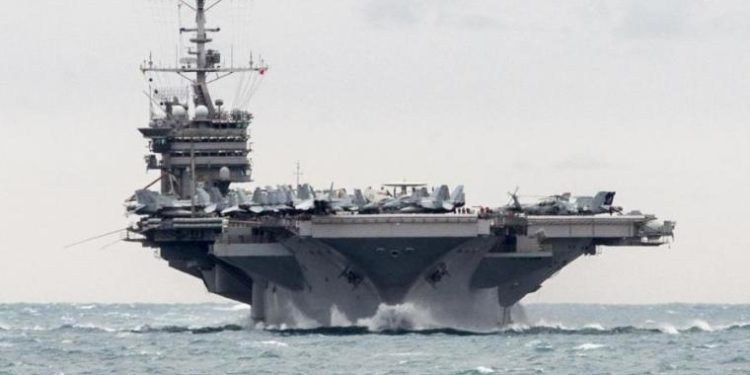 Παραμένει στον Κόλπο το αεροπλανοφόρο Νίμιτς μετά τη νέα ένταση ανάμεσα σε ΗΠΑ και Ιράν