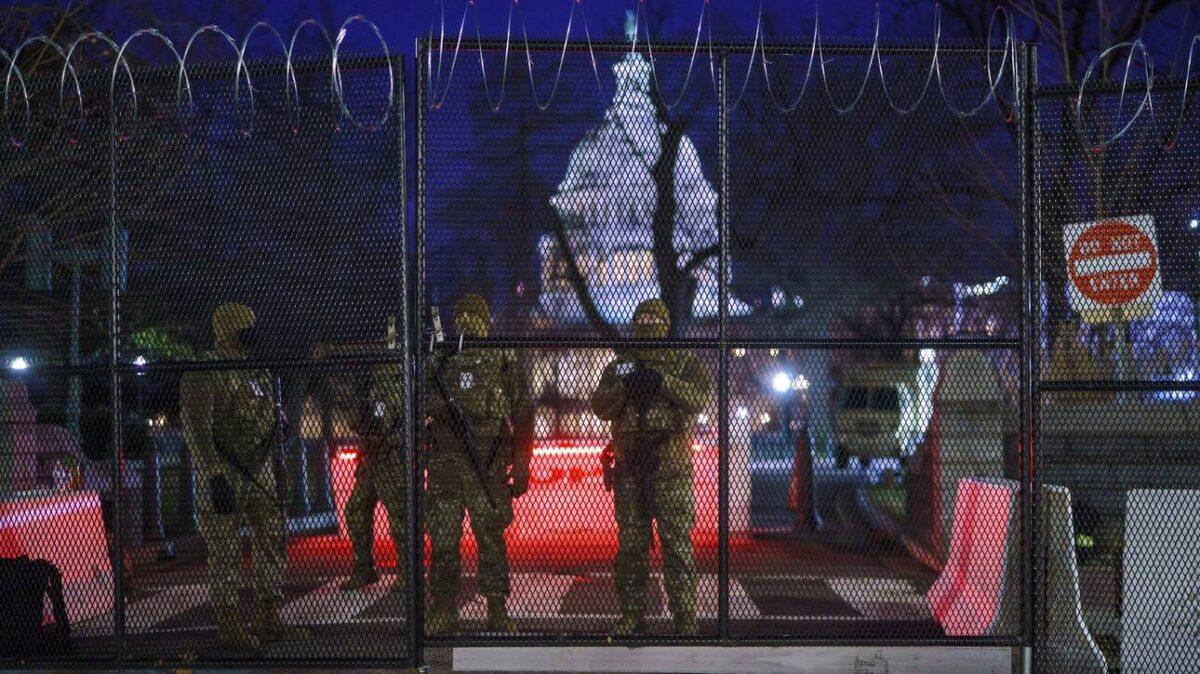 Ορκωμοσία Μπάιντεν: Σε «ασφυκτικό κλοιό» η Ουάσινγκτον