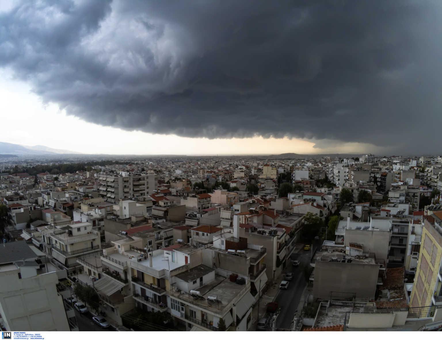 Καιρός Meteo: Νέο κύμα κακοκαιρίας τις επόμενες ώρες – Σφοδρές καταιγίδες και χαλάζι