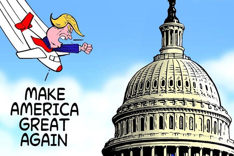 Συγκλονιστικά σκίτσα από όλο τον κόσμο για τα γεγονότα στις ΗΠΑ