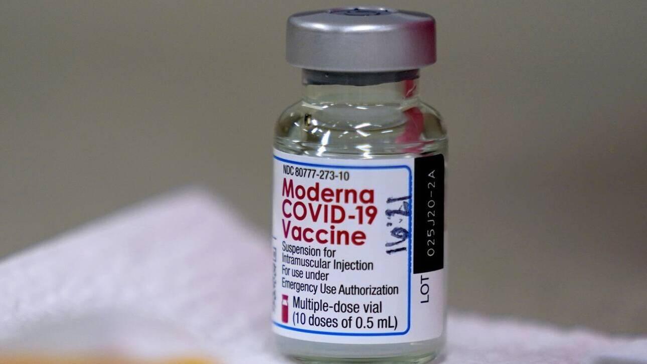 «Ιδιαίτερα σπάνιες οι σοβαρές αλλεργικές αντιδράσεις στο εμβόλιο της Moderna»
