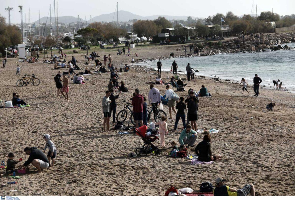 Πάσχα… στις παραλίες για τους Κρητικούς – Στα ύψη ο υδράργυρος