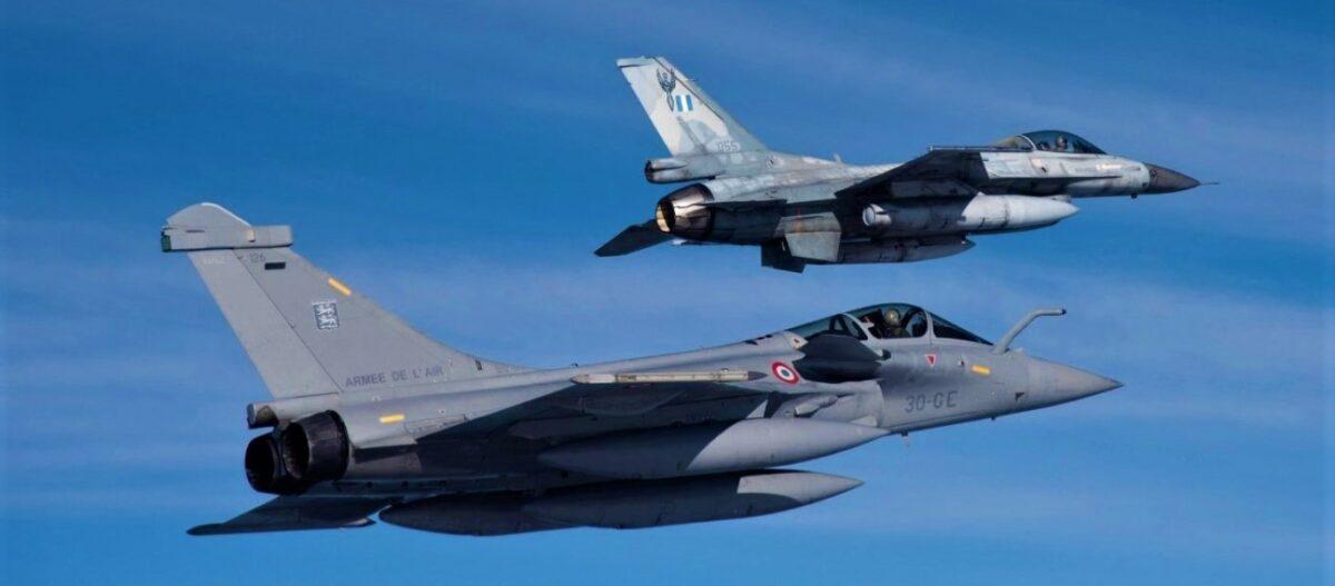 Γαλλικές αεροπορικές δυνάμεις έρχονται στην Ελλάδα – Τουρκικά μαχητικά αναπτύσσονται στις δυτικές βάσεις