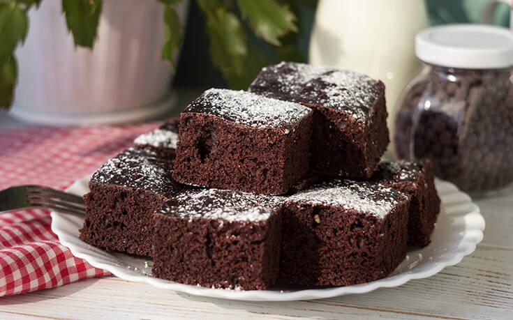 Αφράτο κέικ σοκολάτας