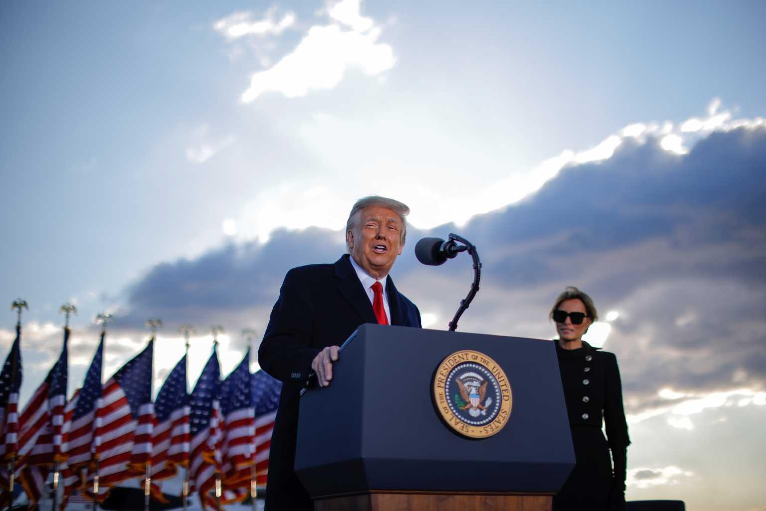 Ορκωμοσία Μπάιντεν Live: Λεπτό προς λεπτό η αναχώρηση Τραμπ από τον Λευκό Οίκο