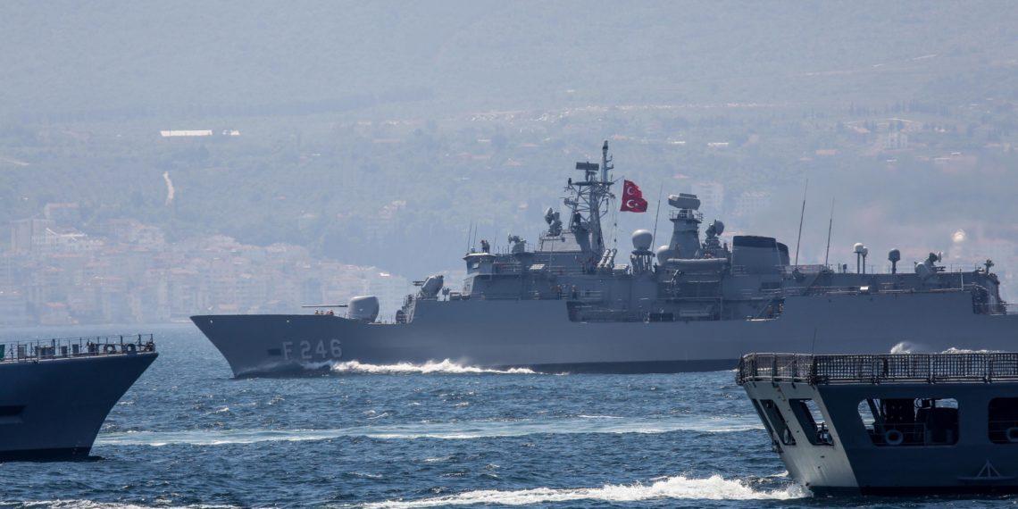 «Ξέφυγε» η Τουρκία: Δέσμευσε με NAVTEX περιοχές σε όλο το Αιγαίο σχεδόν για ένα χρόνο [pics]
